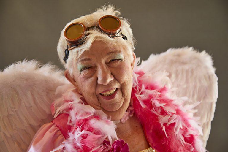 Engelchen-Kostüm rosa
